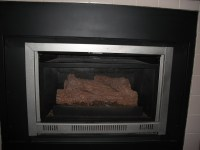 How do I close the Flue on my gas fireplace? (fireplaces