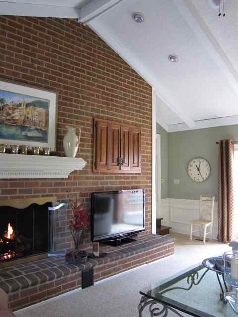 Fireplace In Family Room Do You Prefer Raised Hearth Or