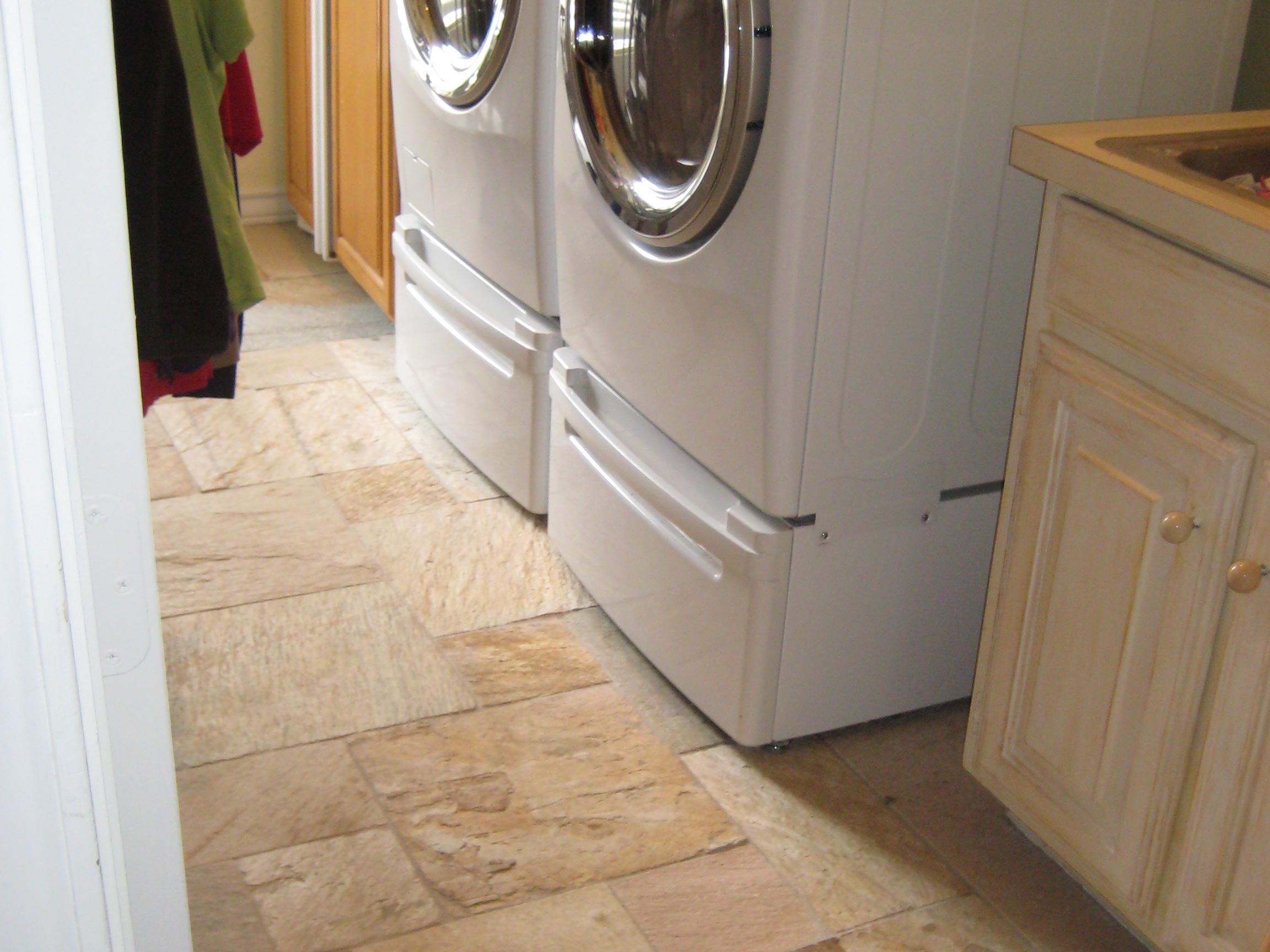 laundry room tiling subfloor vinyl