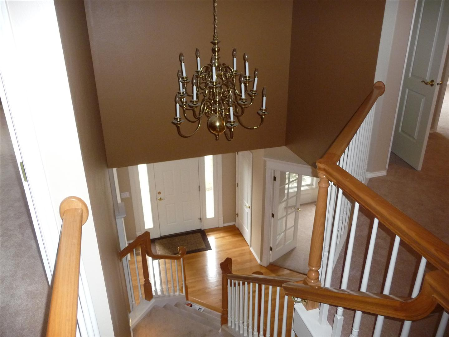 replacing chandelier entry is 2