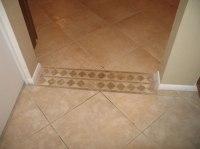 carpet and tile divider  Floor Matttroy