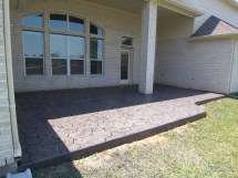 extend concrete patio