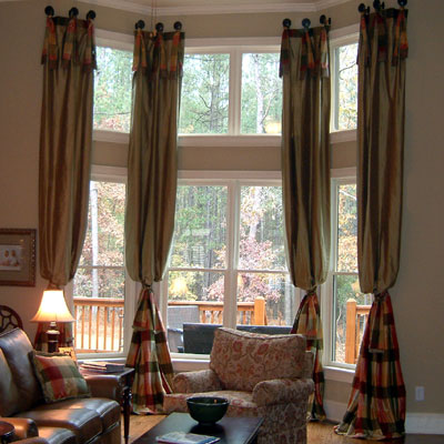 Custom 2 Story Drapes Curtains Charlotte Raleigh How Much