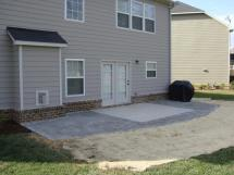 Tract Home Owners Extend Patios Holly