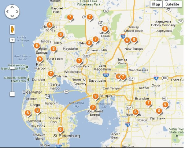 Best Tampa suburbs that have excellent schools Palm