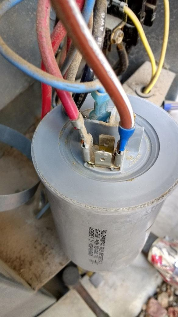 Hvac Capacitor Wiring Diagram Help With Replacing Dual Single Run A C Capacitor S Ac