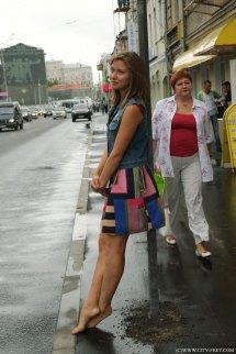 City Feet - Barefoot Girls Dirty