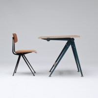 City Furniture | Drafting table and chair by Wim Rietveld ...