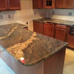 Granite Kitchen Countertops Pictures Backsplash Designs 35sq Ft Cleveland Quartz