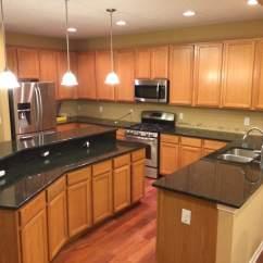 Easy Kitchen Remodel Delta Talbott Faucet Granite Countertops - City ...