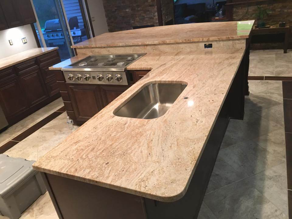 granite kitchen countertops pictures scrub brush 35sq ft cleveland quartz marble vanity tops our warehouse showroom is in eastlake slabs direct from quarry