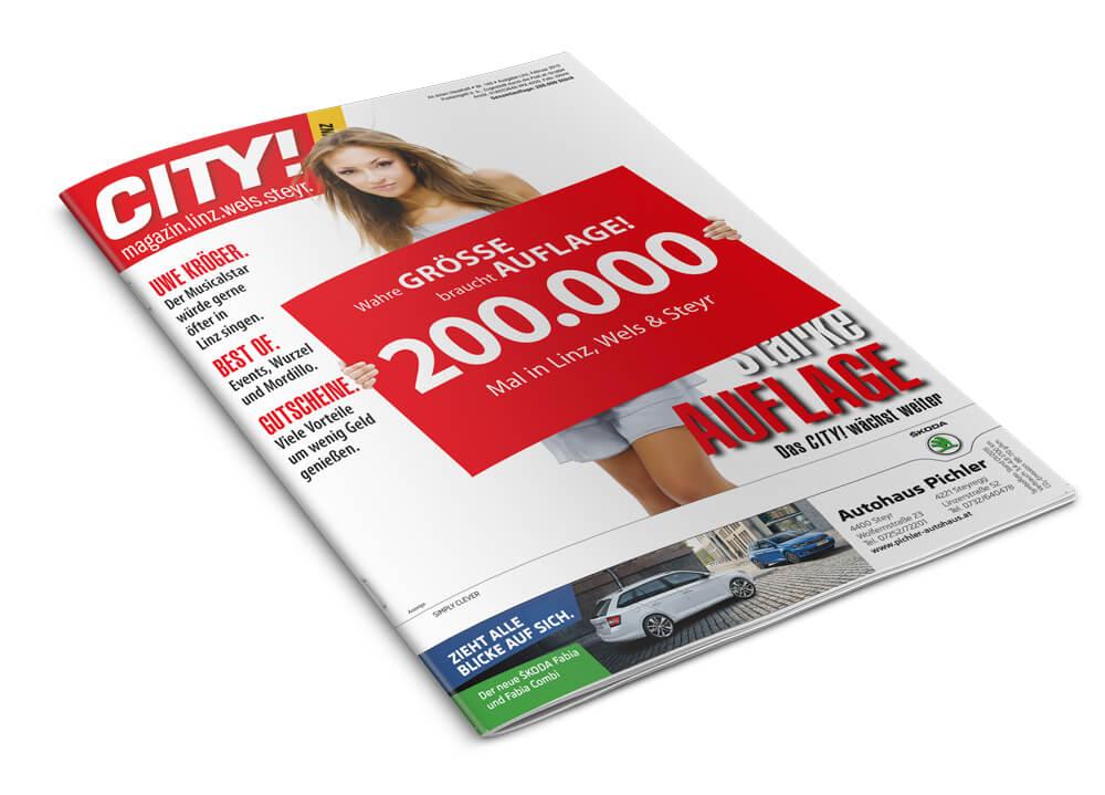 200.000 Mal in Linz, Wels & Steyr