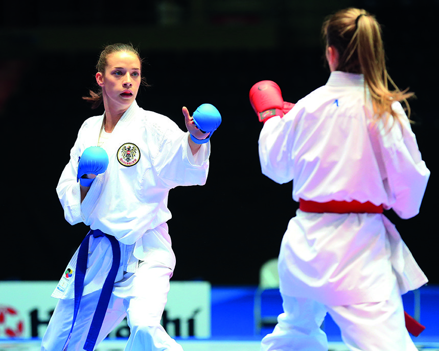 Bettina Plank – Karate Europameisterin
