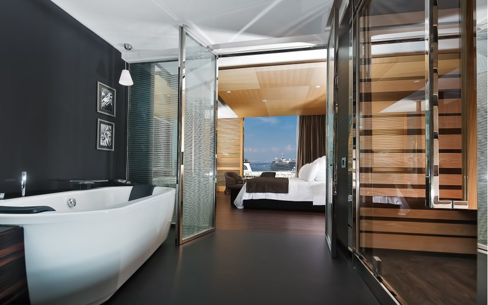 A room at the Hotel Romeo