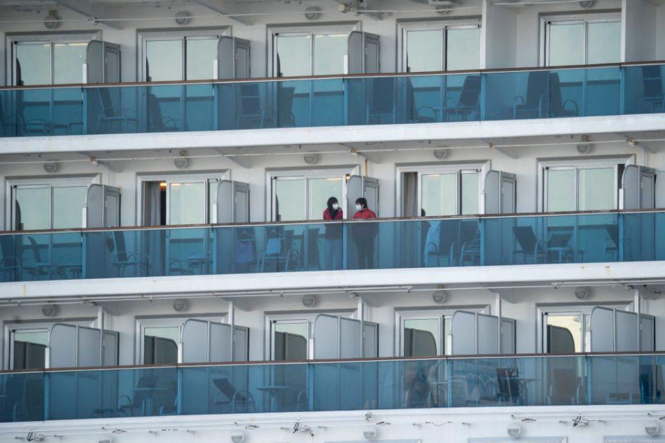Coronavirus: Passengers begin to leave Diamond Princess cruise ...