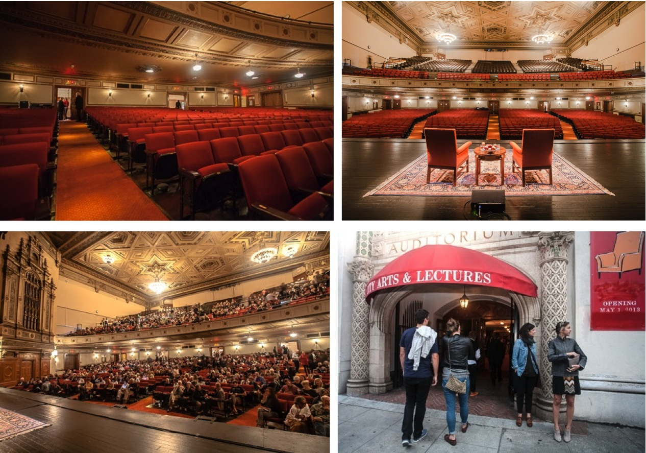 Nourse Theater City Arts Lectures