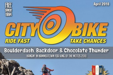 CityBike Magazine - April 2018