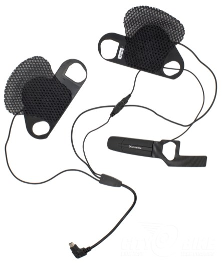 Interphone Pro Sound speaker upgrade kit, with mic.