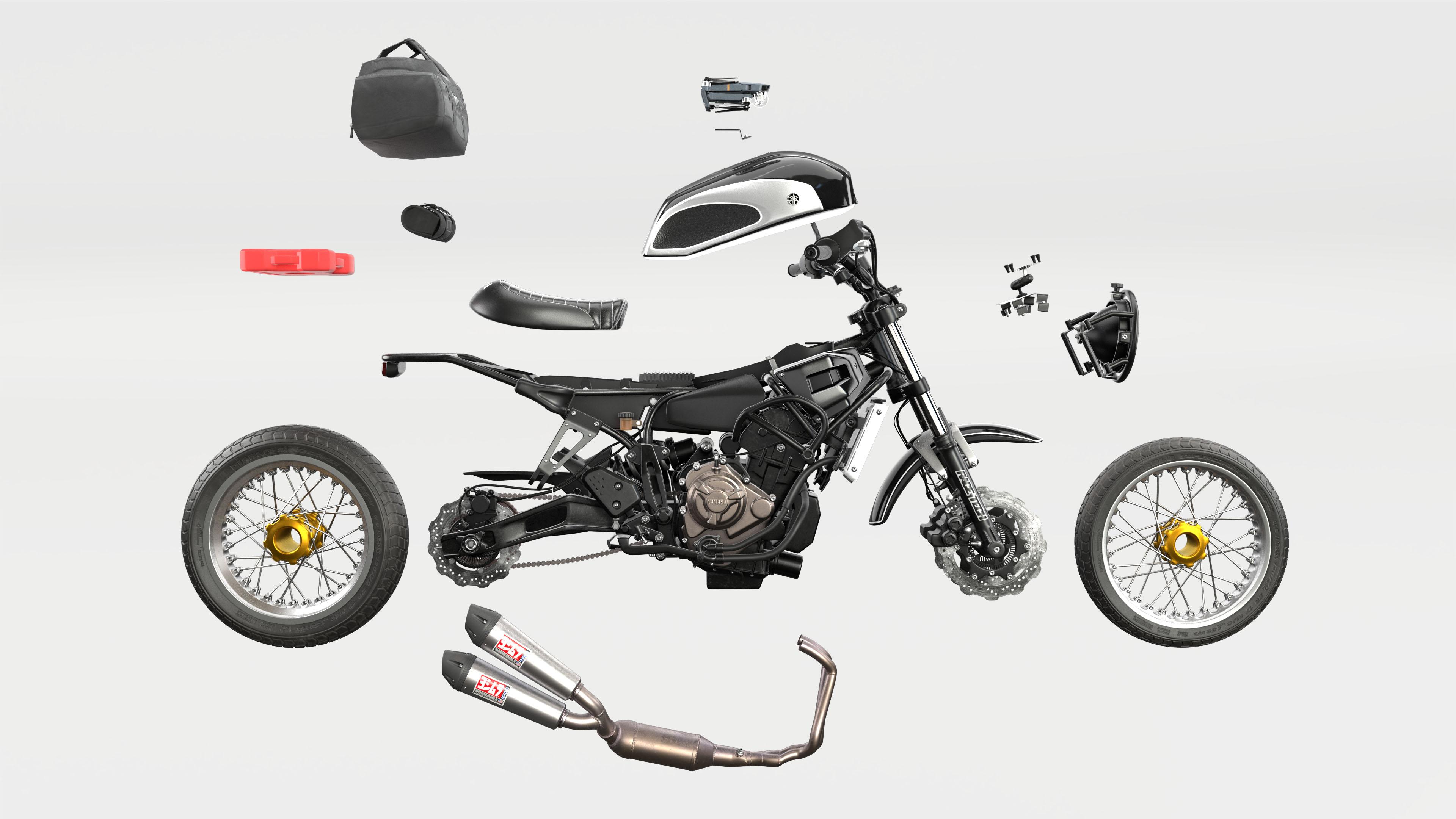 Velomacchi Yamaha Xsr700 Based Rural Racer Project