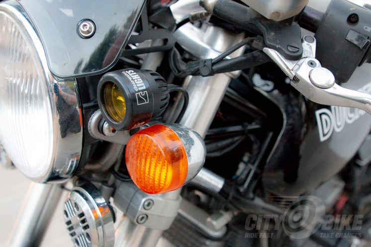 Clearwater Glendinas mounted on An's SportClassic GT 1000, AKA the Utili-Duc