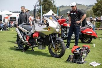Moto Guzzi V11 Sport LeMans with MotionTekV engine transplant. Photo: Angelica Rubalcaba.