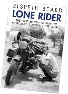 Elspeth Beard Lone Rider Book Cover
