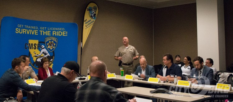 California Motorcyclist Safety Program meeting, April 2018.