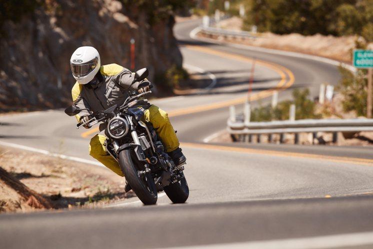 Max aboard Honda's new 2019 CB300R
