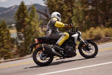 2019 Honda CB300R in the twisties