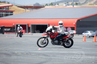 You gotta look where you want to go... Z2 Track Days RoadRider 2.0 Course