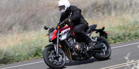 2018 Honda CB650F ABS Feature