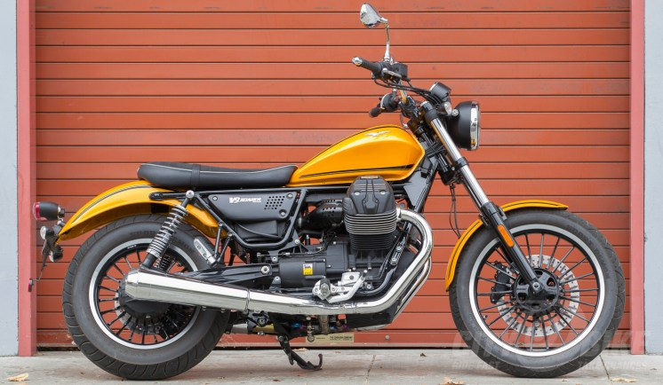 2016 Moto Guzzi V9 Roamer