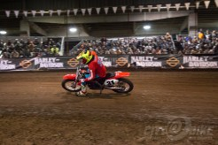 The One Pro flat track race 2018.
