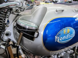 Ultra-Rare Mondial Racers at the Quail