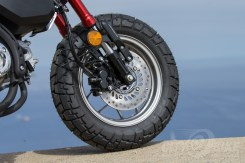Honda Monkey front wheel and brake (with ABS)