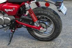 Honda Monkey swingarm and left rear shock