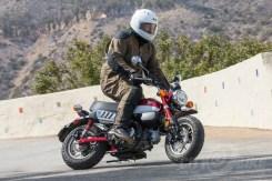 ... some agility work... - Honda Monkey