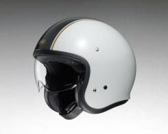 Shoei J•O open face helmet - Caburetor - white, side
