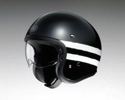 Shoei J•O open face helmet - Sequel - black, side