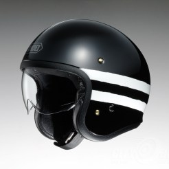 Shoei J•O open face helmet - Sequel - black, side
