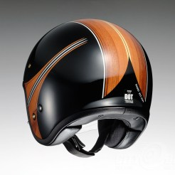 Shoei J•O open face helmet - Waimea - rear