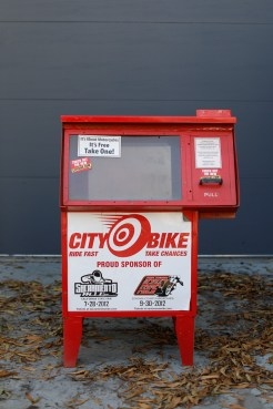 CityBike Racks - It's about motorcycles. It's free. Take one!