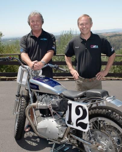 Terry Otton (left) and Randy Kremlacek.