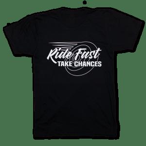 CityBike: the original home of Ride Fast Take Chances T-Shirts.