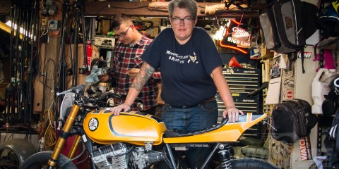 Liza Miller and the Re-Cycle Garage