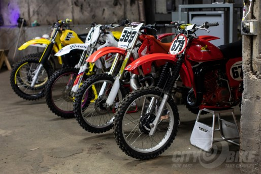 Dirtbikes at the 2019 One Motorcycle Show