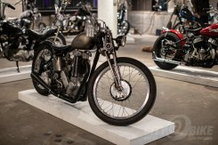 Custom Norton at the 2019 One Motorcycle Show.