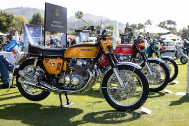 CB750s at the 2019 Quail Motorcycle Gathering. Photos: Angelica Rubalcaba.