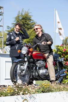 2019 Quail Motorcycle Gathering Best in Show - Sam Roberts 1959 Honda CB750 Sandcast. Photo: Angelica Rubalcaba.