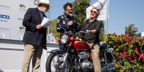 Quail Motorcycle Gathering 2019 - 1969 Honda CB750 Sandcast - Sam Roberts